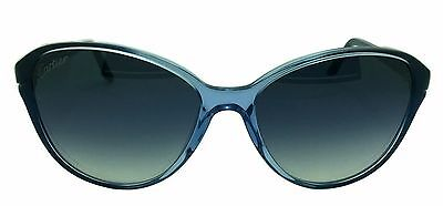 Cartier Double C Décor Cat Eye Graded Blue Composite Women Sungles Esw00181