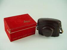Leica Leather Case & Red Velvet Box - IGEMO for Leica Leitz M3
