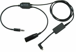 Garmin VIRB Recorder Adapter For Helicopter Headset Pilot Communications U174