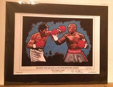 Boxing Pacquiao v Mayweather Ltd Edtn of 250 ~ Free Froch v Groves 2