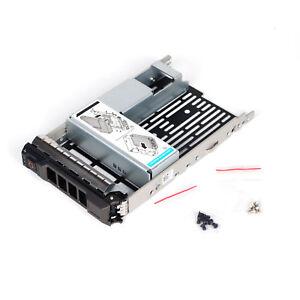 """3.5"""" Hybrid Plateau Caddy Avec 2.5"""" Adaptateur Pour Dell Poweredge R530 Navire De Usa-afficher Le Titre D'origine"""