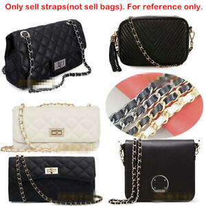 REAL-LEATHER-CHAIN-STRAP-PURSE-SHOULDER-CROSSBODY-REPLACEMENT-BAG-HANDBAG