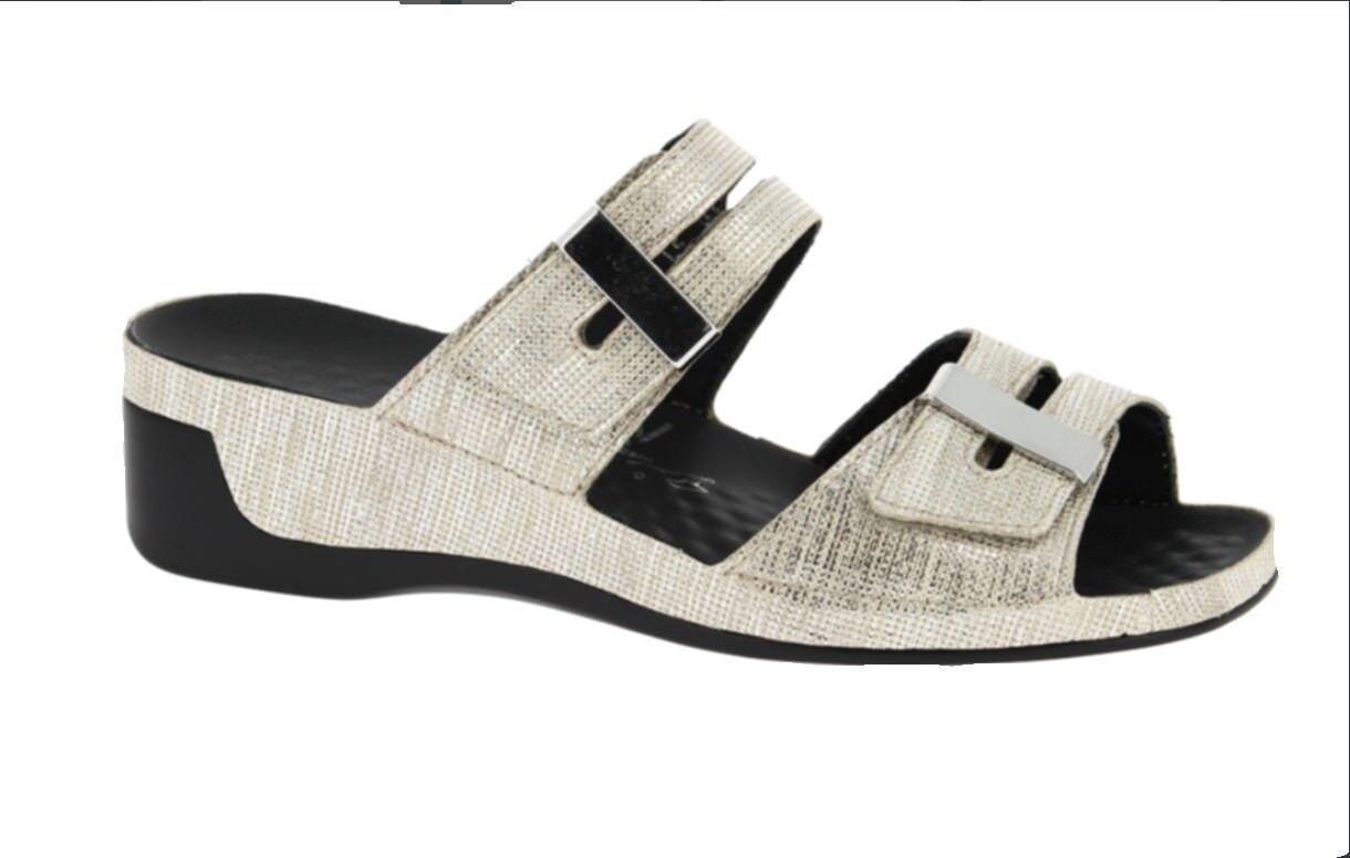 c55aad58d1b Tina gold 0836206-25 Pantolette Vital eornb2b035977-Women's Sandals ...