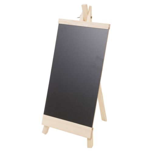 Chalk Blackboard Children Kids Easel Wooden Drawing Art Writing Board Wedding