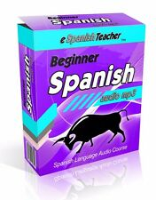 eSpanishTeacher Learn to SPEAK SPANISH language MP3 audio course PC Mac itunes