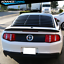 For-05-14-Ford-Mustang-GT-V6-V8-Rear-Window-Louver-Matte-Black-Cover-ABS miniature 3