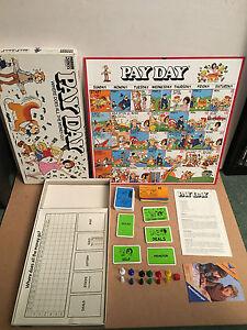 Pay Day Juegos De Mesa Original Anos 80 Version Completo Ebay