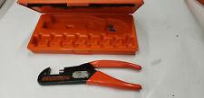 Thomas Amp Betts Tampb Wt740 Crimp Tool No Dies In Box Lot2