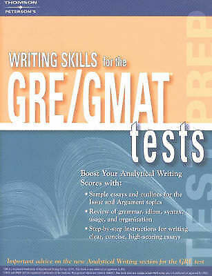 Writing Skills for the GRE and GMAT by Petersons Publishing-ExLibrary