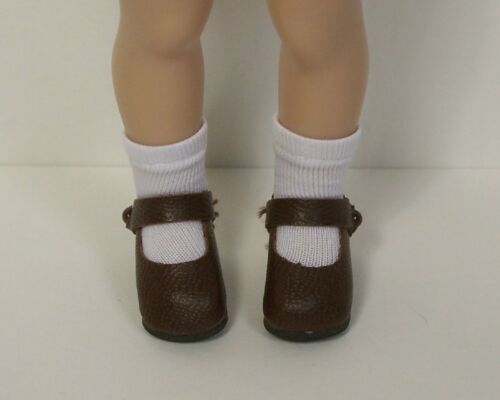 CHOCOLATE BROWN Basic LL Doll Shoes Made For Helen Kish Riley Debs