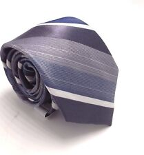 $135 EAGLE Men`s SKINNY NAVY BLUE SOLID NECKTIE CASUAL DRESS SLIM NECK TIE 60x3