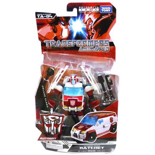 Transformers Animated Deluxe Ratchet TA-04 Takara NEW