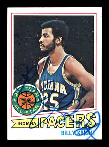 Billy-Knight-Auto-Autographed-1977-78-Topps-Card-110-Indiana-Pacers-167311