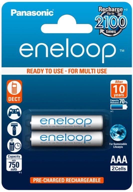 20x Eneloop Akku AAA LR03 MN2400 Micro Batterie 1,2V Ministilo R3 Micro 800mAh | Neue Produkte im Jahr 2019