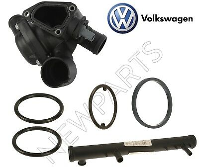 Engine Coolant Thermostat Housing Assembly Beck//Arnley fits 04-06 VW Touareg