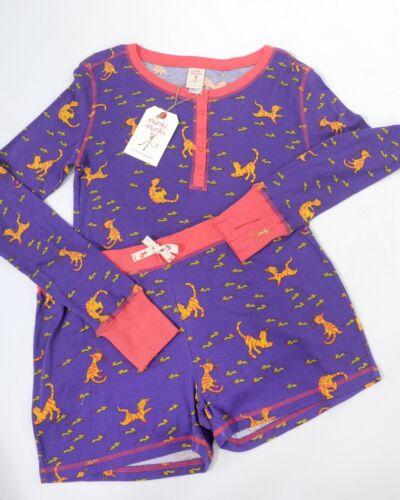 Pantaloni Womens Medium Two Size Nwt Munki Set Top ls Piece Pajama corti wdzfxqxIY