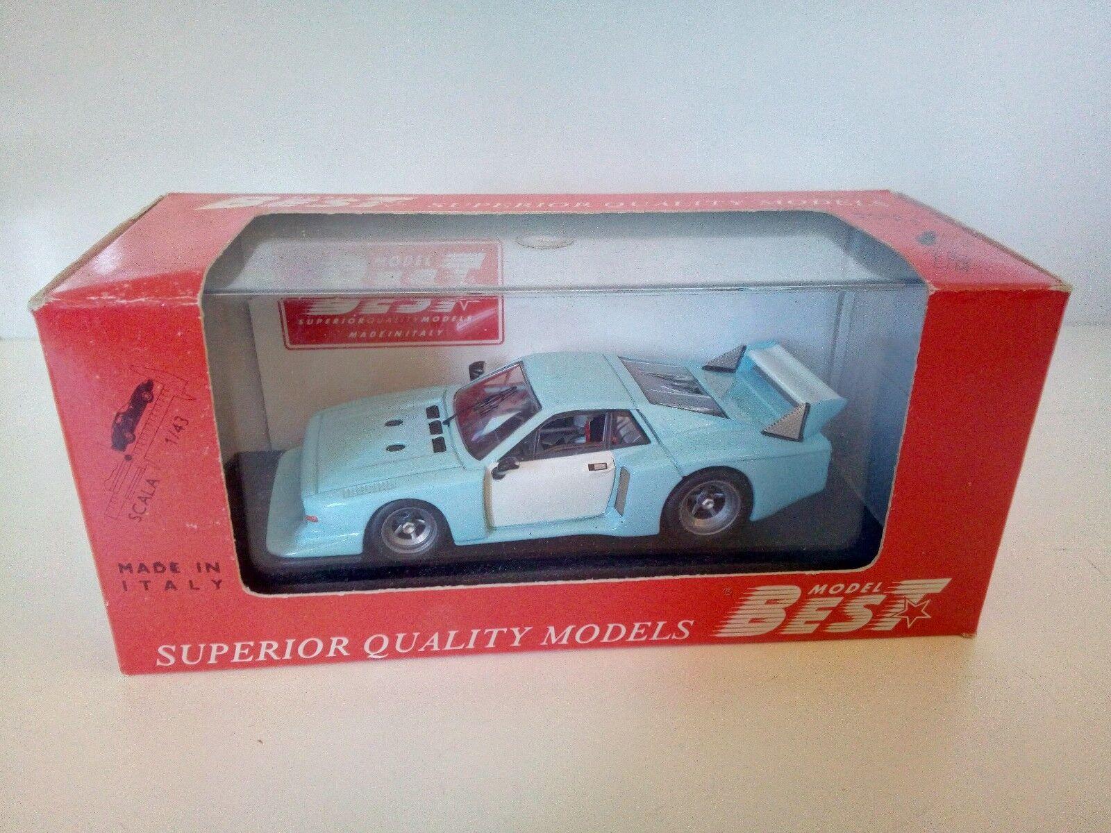 1 43 1 43 BEST LANCIA BETA MONTECARLO 1979 azzurro - MB