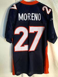 Details about Reebok Authentic NFL Jersey Denver Broncos Knowshon Moreno Navy sz 50