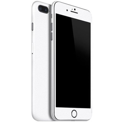 Apple iPhone 7 (4.7) & iPhone 7 Plus (5.5) white matte skin front and back both