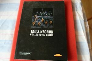 Adaptable Games Workshop Warhammer 40k Tau Et Necron Collectors Guide Book Très Bon état Necrons-afficher Le Titre D'origine Clair Et Distinctif