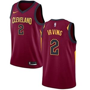 check out 67107 0c2e5 Details about Kyrie Irving Cleveland Cavaliers Nike Youth Medium 10/12 Red  Jersey Dri Fit $70