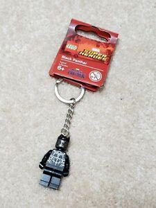 Marvel//DC Superheroes 853771 Lego Black Panther Keychain//Keyring