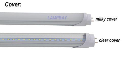 "4-100//pack Dimmable LED Tube Light 4FT 1.2M 48/""Retrofit Fluorescent Bulb 20W 24W"