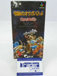 Ogre-Battle-The-March-of-the-Black-Queen-Super-Famicom-Japanese-Complete