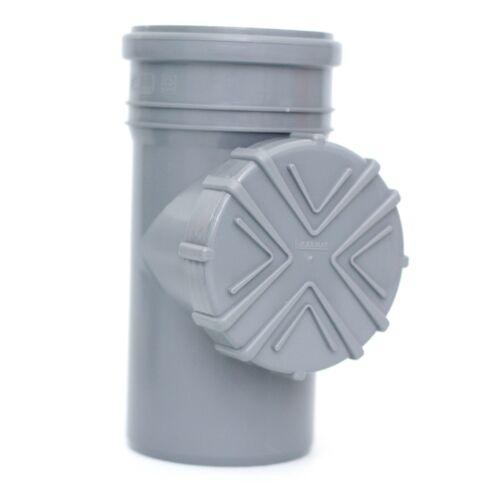 Tubo lluvia caso de filtro Filtro de tubo canalón laubfang kg//HT tubo dn100 ø110 gris