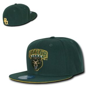 brand new 7ef7f 45e8b ... order image is loading ncaa baylor bears university college fitted caps  hats e0d21 05912