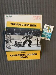 California-Golden-Seals-74-75-Season-Ticket-Order-Schedule-w-Envelope-NHLOakland