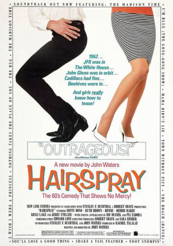 Reproduction Classic Movie Cinema Poster Art Print HAIRSPRAY 1988 John Waters