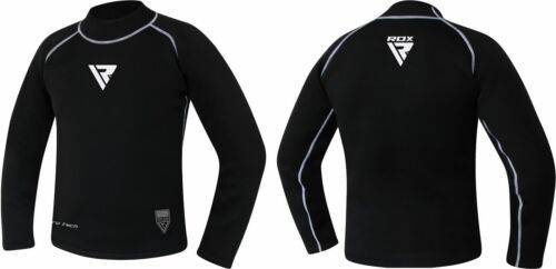 RDX Neopren MMA Langarm Kampfsport Rashguard BJJ Grappling Funktionsshirt DE