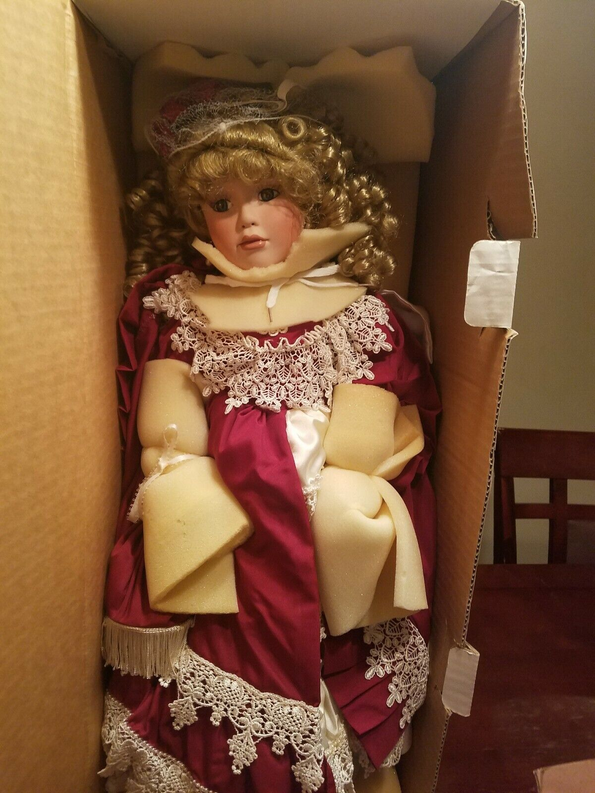 Francis Porcelain Doll By Janis Bernard By Kais Inc