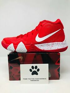 the best attitude eff89 13d9e Details about Nike Kyrie 4 TB 'University Red' AV2296-600 Size 15