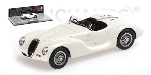 Alfa Romeo 6c 2500 Ss Corsa Spider 1939 White 1 43 Model MINICHAMPS