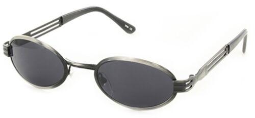 Design Sonnenbrille Retro Vintage Gläser Smoke Bügel Metall//Schwarz oder Havanna