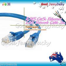 2m RJ45 Cat5e Network / Ethernet / Patch / LAN Cable LEAD for PC XBOX PS3 Blue