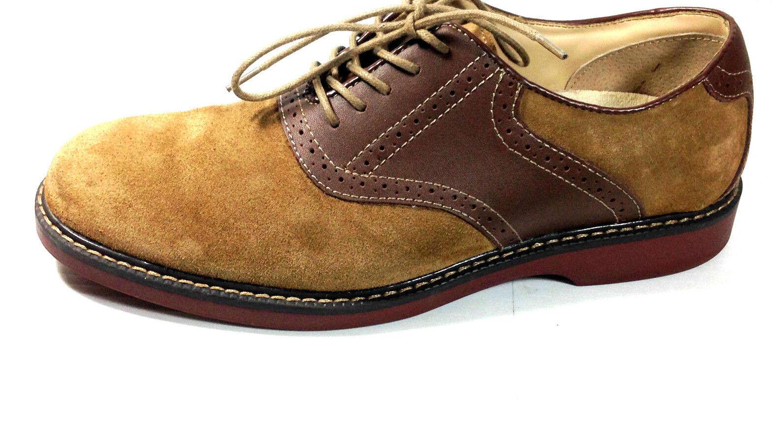 G.H. Bass Signature Oxford Saddle shoes Pomona Taupe Suede Size  U.S. 8.5