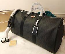 NWT Michael Kors Travel Duffle Bag Weekender Style # 35T6STFU4B Black XL