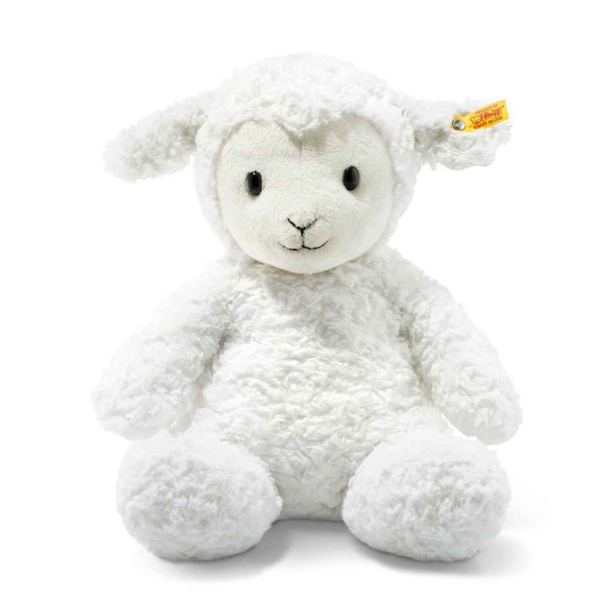 Steiff 073434 Soft Cuddly Friends Fuzzy Lamb Large Large Large with FREE gift Box 609dbd