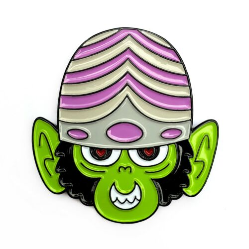 Mojo Jojo Enamel Pin Powerpuff Girls Cartoon Network Monkey Lapel Badge