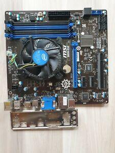 Bundle MSI B85M-E45 LGA 1150 +Core i3 4160 4 x 3,60 GHz 4nd Gen.,TOP ZUSTAND