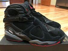 49b37783d9d item 3 Nike Air Jordan 8 Retro Black Gym Red Wolf Grey 305381 022 Men's  Size 8 -Nike Air Jordan 8 Retro Black Gym Red Wolf Grey 305381 022 Men's  Size 8