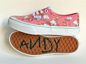 Vans Authentic Pink Toy Story Woody