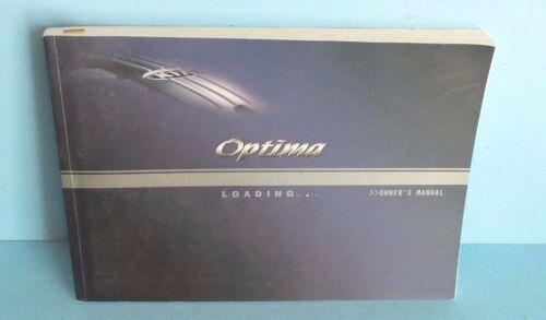 05 2005 Kia Optima owners manual