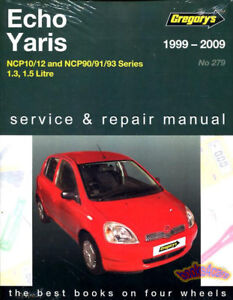 shop manual echo yaris service repair book toyota haynes chilton 1 5 rh ebay com OEM Navigation for 2007 Toyota Yaris 2007 Yaris Body Repair Guide