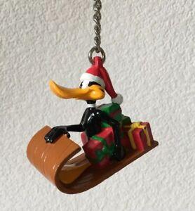 Vintage Daffy Duck Key Chain Zipper Pull Key Fob WB Looney Tunes 1998