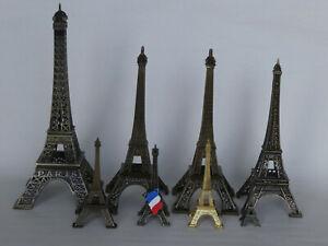 Eiffel-Tower-Replica-Metal-Burnished-Bronse-Souvenir-La-Tour-Eiffel-All-Sizes