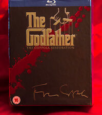 Godfather Trilogy - The Coppola Restoration NEW BLU-RAY